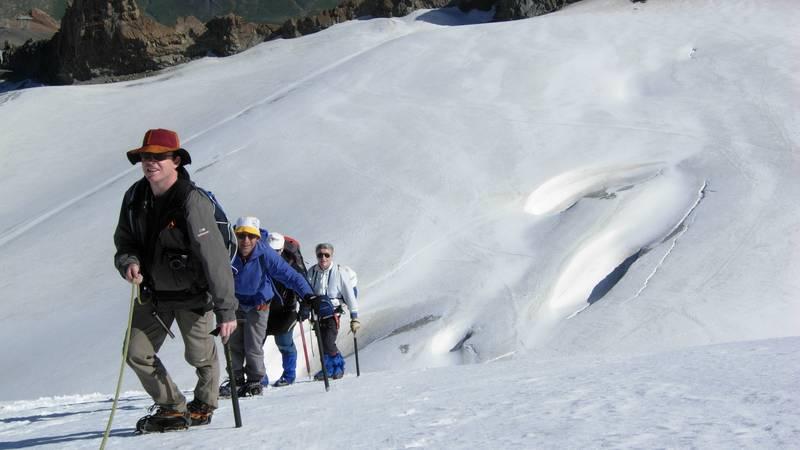 Balade sur glacier