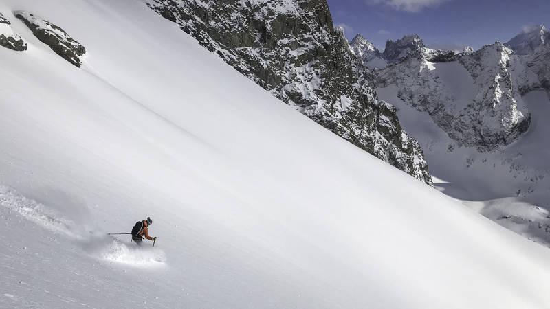 Ski de rando saint christophe en oisans