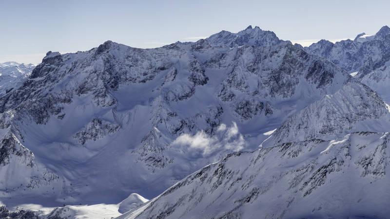 Ski de rando   massif des combeynots copie