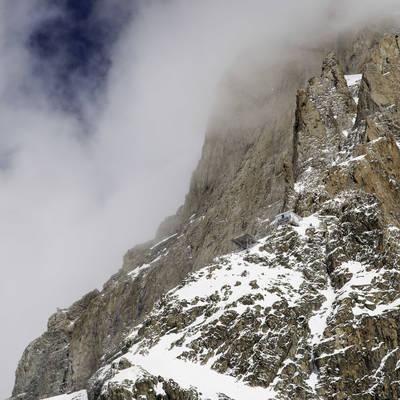 Ski de rando   tours de la meije   refuge du promontoire copie