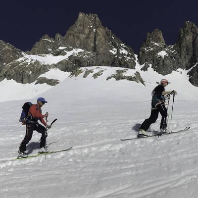 Ski de rando grand tour meije