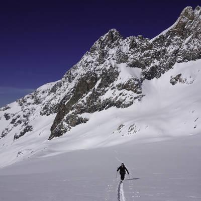 Glacier de la selle