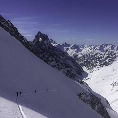 Ski de rando travers%c3%a9e replat b%c3%a9rarde 2