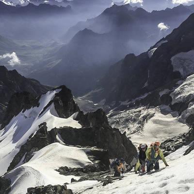 Alp meije orientale ambiance