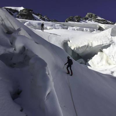 Alp descente meije orientale